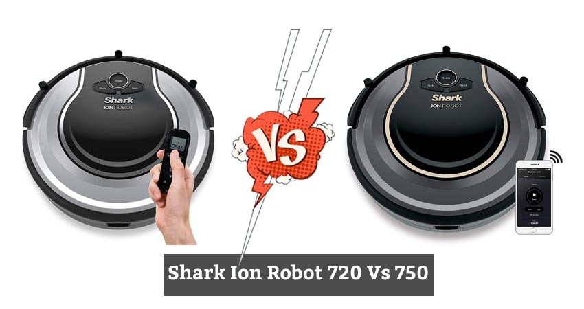 Shark Ion Robot 720 Vs 750