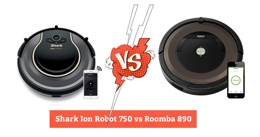 Shark Ion Robot 750 vs Roomba 890